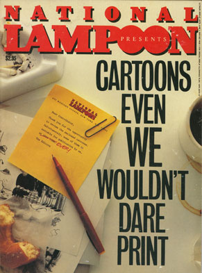 Cartoons Even We Wouldn't Dare Print - 1984