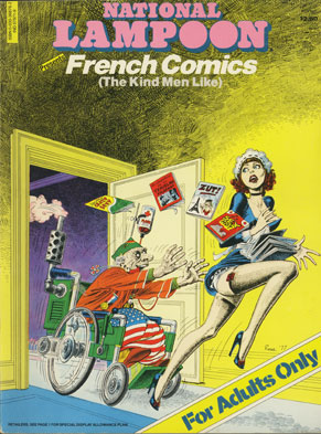 French Comics (The Kind Men Like) - 1977