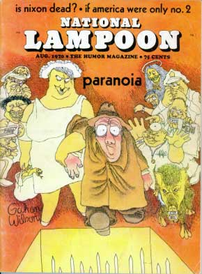 National Lampoon #5 - August 1970