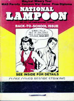 National Lampoon #19 - October 1971