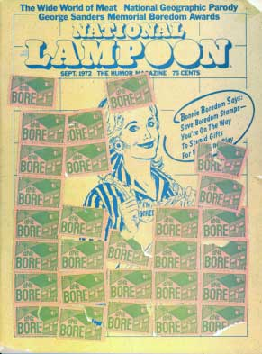 National Lampoon #30 - September 1972