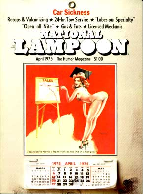 National Lampoon #61 - April 1975